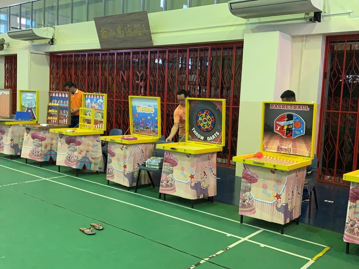 Carnival Game Stations